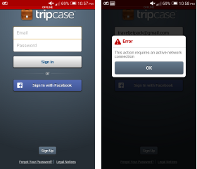 Tripcase Requires Internet just to view my itinerary :(