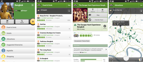 Bangkok City Guide App by Tripadvisor